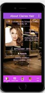 salon app pic